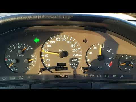 Mercedes S Klasse W140 280 0-170km/h Acceleration