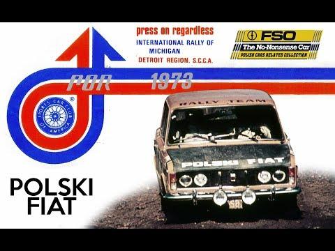 Press on Regardless 1973 Rally - Polski Fiat 125p