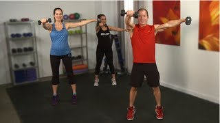 Tone Your Arms and Core With Cameron Diaz's Trainer in Just 10 Minutes!!