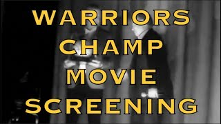Warriors 2017-18 Championship Movie Screening (available on DVD) at Grand Lake Theatre, Oakland