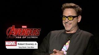 Robert Downey Jr. on Marvel's Avengers: Age of Ultron