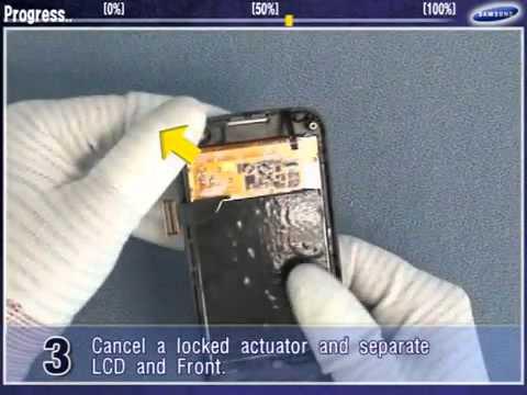 Changement ecran tactile samsung Jet S8000