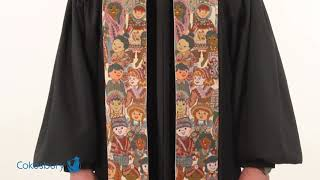 Children of the World Large Pattern Stole
