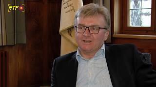 Bad Uracher Bürgermeister Rebmann mit Rückblick und Ausblick auf 2020