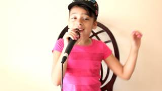 "Amber Amadis singing ""The Climb"" (cover song) by Hannah Montana (Miley Cyrus)"