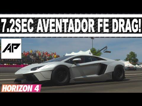 Forza Horizon 4 Lamborghini Aventador Fe Drag Tune 1800hp