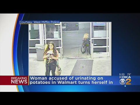Cindy Scull Mornings - Woman Arrested for URINATED on Potatoes at Walmart