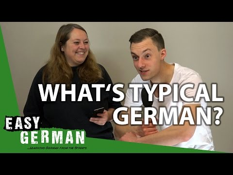 What's typical German? | Easy German 192