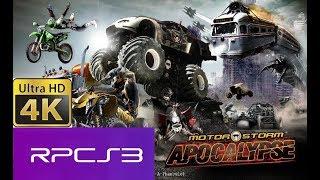 PS3 Emulator-RPCS3-LLVM-VK-0.0.4- 4K MOTORSTORM APOCALYPSE