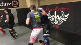 Zach Juice Juusola sparring highlight from Xtreme Couture - May 2016