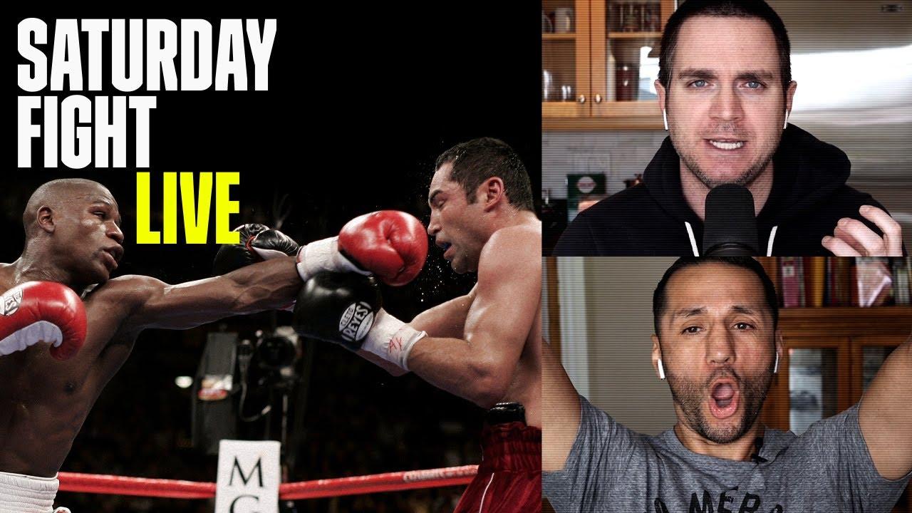 Oscar De La Hoya vs. Floyd Mayweather Jr. (Saturday Fight Live)
