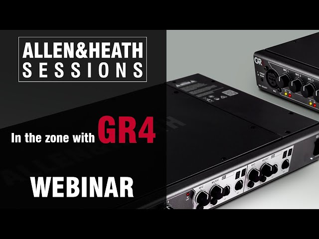A&H Sessions - In the Zone with GR4