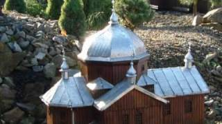 Myczkowce-Centrum Kultury Ekumenicznej-miniaturowe świątynie-Modlitwa Okudżawy-śpiewa Ada Brzuzek