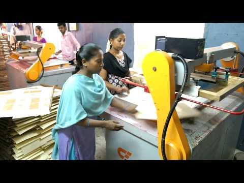 Hats Off To Women Print Wedding Cards On Semi Auto Screen Printing Machine Whatsapp;+919819380563