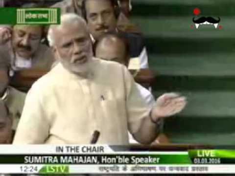 Modi takes Revenge on Rahul's comment at parliament | Quotes Indira, Rajiv to target Gandhis