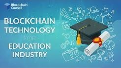 Blockchain Use Case #3   Education Industry   Blockchain Council