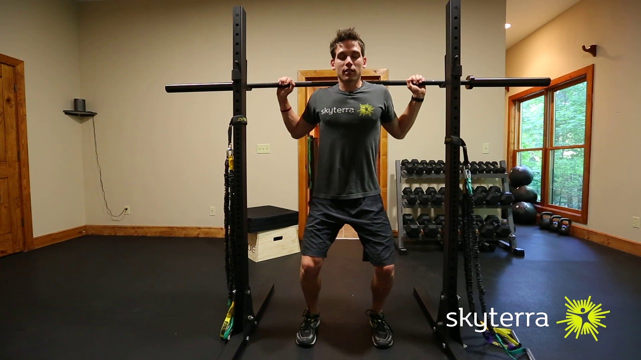 Movement Library: The Barbell Back Squat