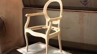 видео Стулья деревянные из массива купить