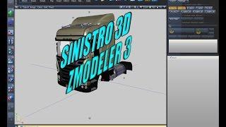 ETS Como Editar Caminhão no Zmodeler 3