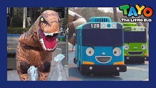 Dinosaur Song l Hey Tayo Dino Song l Tayo in Real Life l Tayo the Little Bus