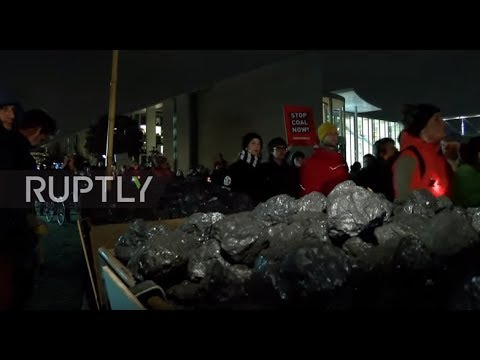 Germany: Eco-activists demand German coal phase-out at Berlin rally