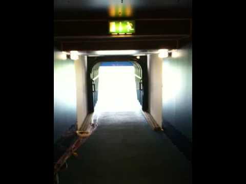 Down The Ibrox Tunnel