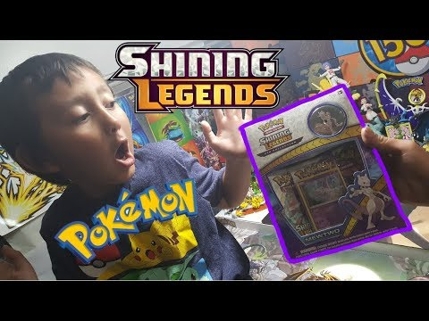 Miramoto & Mewtwo!! Shining Legends Pin Collection Box!! Early Pokemon Cards From Japan!?