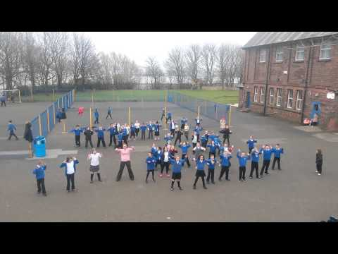 Riverside Primary School, Seacombe #flashmob #uptownfunk