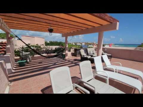 Oceanfront Rental Property in Playa Del Carmen Mexico - Luna Encantada B3