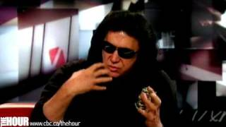 Gene Simmons on The Hour with George Stroumboulopoulos