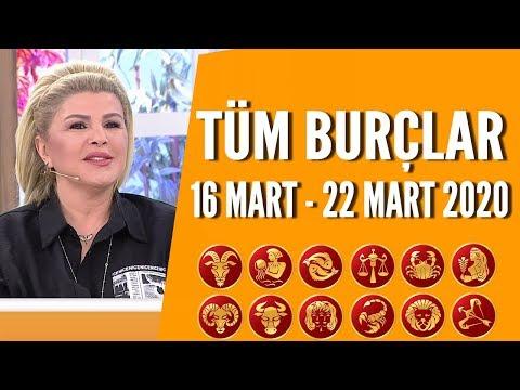 TÜM BURÇLAR | 16 Mart - 22 Mart 2020 | Nuray Sayarı'dan haftalık burç yorumları
