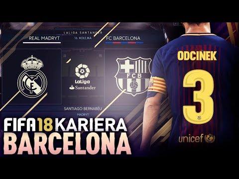 FIFA 18 | KARIERA FC BARCELONA | #03 - GRAN DERBI!