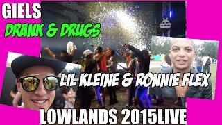 Lil Kleine & Ronnie Flex - Drank & Drugs (Live lowlands) #NewWave #Giels