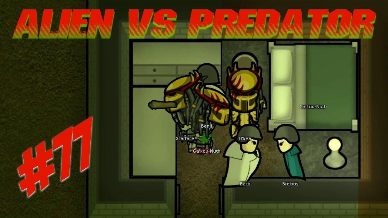 🚀 CAN WE EAT TOXIC FOOD !!! Rimworld alien vs predator mod Ep 77