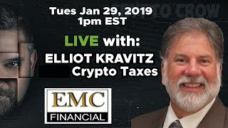 #CryptoTaxes with Elliot Kravitz - Ask Your Questions on Bitcoin Taxes, Crypto Gains Taxes
