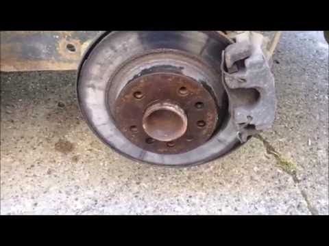 DIY How to change Rear Shocks/struts on 03-12 Saab 9-3 Linear