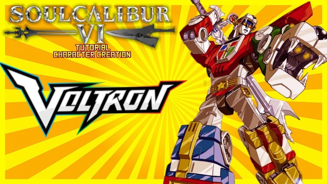 SoulCalibur VI - How To Create Voltron