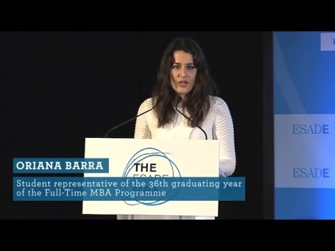 ESADE's 36th Full-Time MBA Graduation Ceremony: Class of 2016