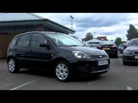 used ford fiesta diesel hatchback 2008 1 4 tdci style 5dr yg08hjy youtube. Black Bedroom Furniture Sets. Home Design Ideas