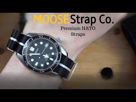 MOOSE STRAP Co. Premium NATO Straps, High Quality Affordable Straps