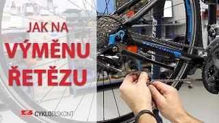 Jak vyměnit řetěz na kole | Cyklodiskont.cz