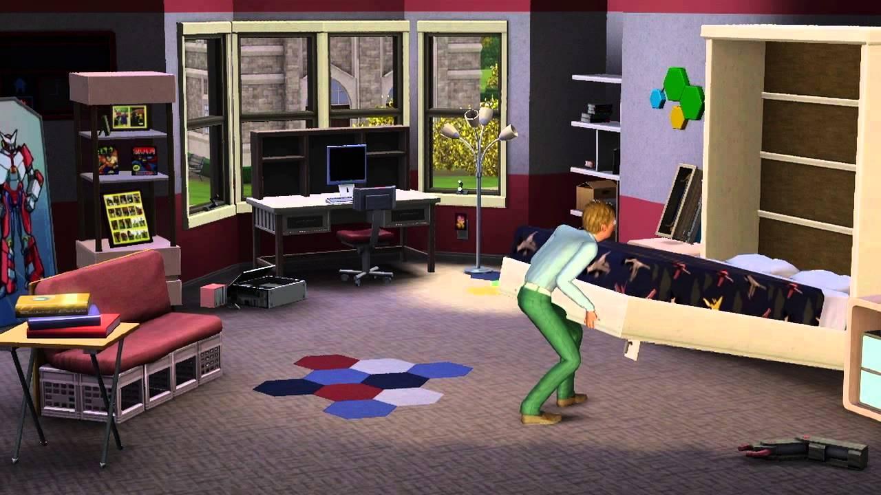 university life sims 3