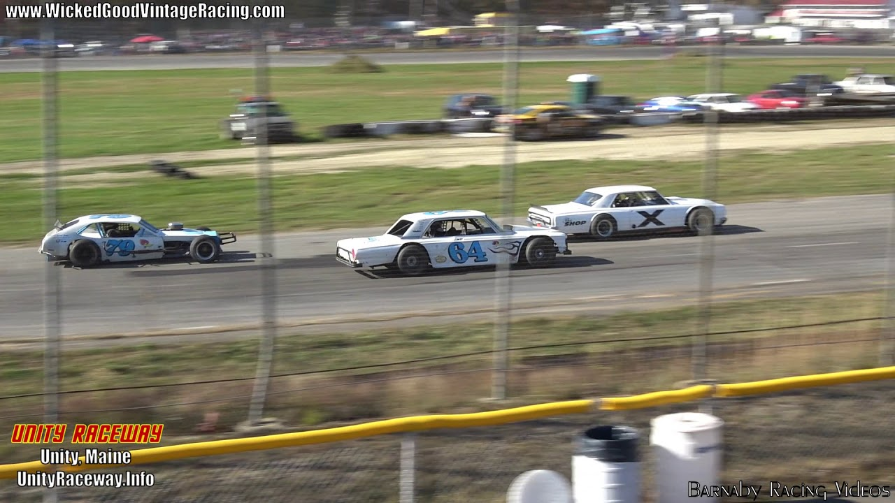 Wicked Good Vintage Racing Tour (FULL RACE) @ Unity Raceway from 10 ...