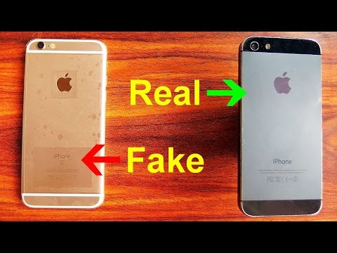 Real Vs Fake IPhone (general Differences)