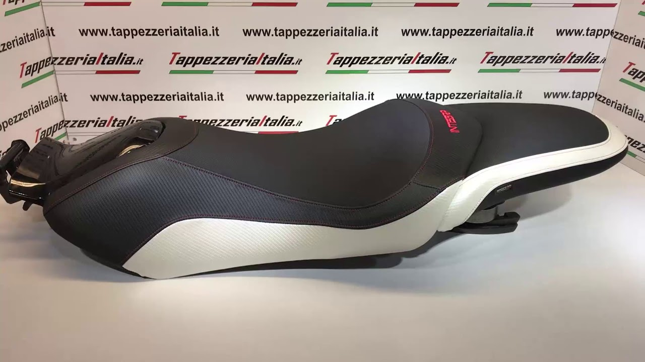 honda Integra 750 seat cover confort by Tappezzeria Italia