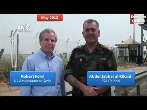 Fmr US Ambassador in Syria Worked Closely with ISIL & Jabhat AlNusra