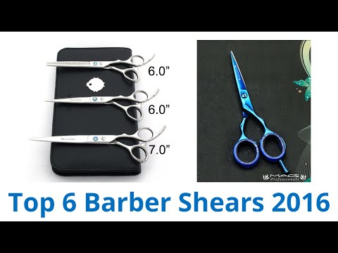 6 Best Barber Shears 2016