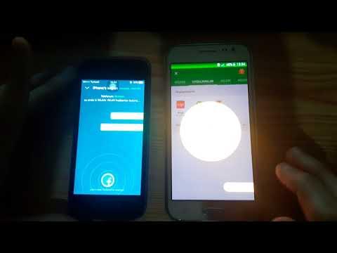 Iphone'den(İOS) Samsung'a(Android) Dosya Aktarımı (Resim,müzik,vb) İNTERNETSİZ