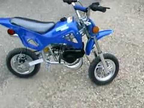 Giovanni 49cc Pocket Dirt Bike Running Youtube