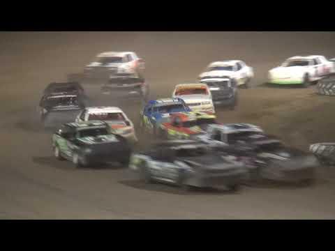 IMCA Stock Car feature Independence Motor Speedway 7/27/19